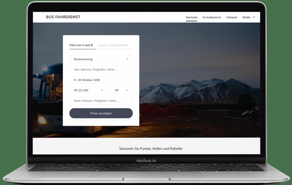 Macbook Air 2020(bus-fahrdienst.de)